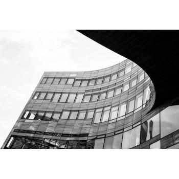 Jacek Durski, sprzedaż fotografii artystycznej – Architektura – Düsseldof, Szklane domy 01