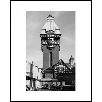 Jacek Durski, sprzedaż fotografii artystycznej – Wieża ciśnień – szpital Zabrze