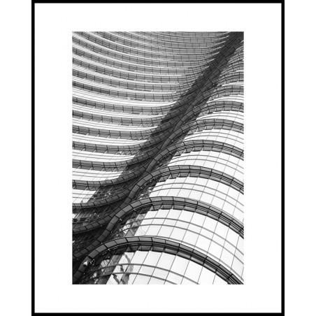 Jacek Durski, sprzedaż fotografii artystycznej – Architektura – Mediolan, Fale szkła