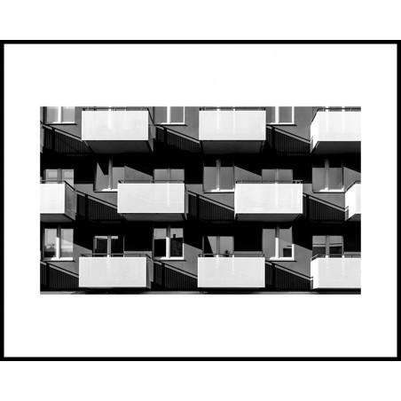 Jacek Durski, sprzedaż fotografii artystycznej – Architektura – Katowice, Balkony