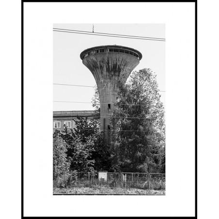 Jacek Durski, sprzedaż fotografii artystycznej – Wieża ciśnień – Tychy, Dworzec PKP