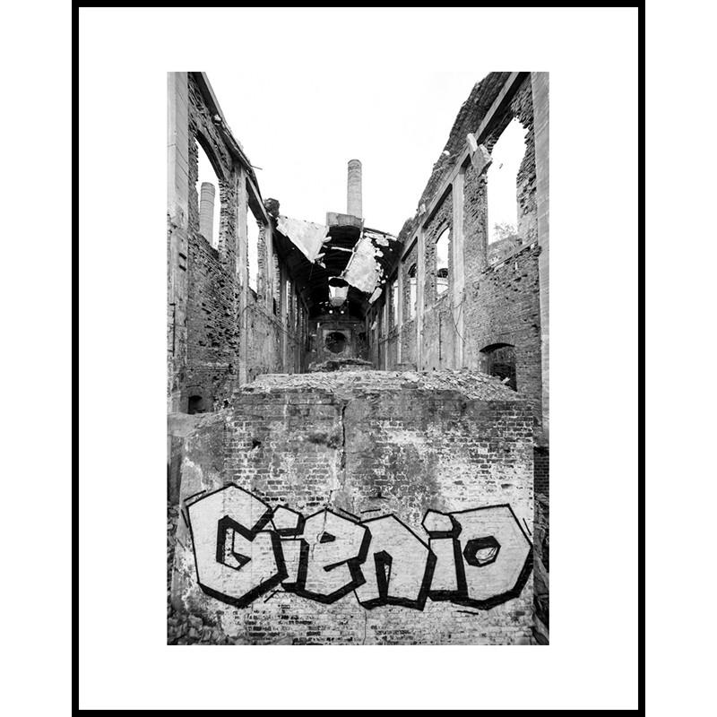 Jacek Durski, sprzedaż fotografii artystycznej – Miejsca zapomniane  – Gienio (Cementownia Grodziec)