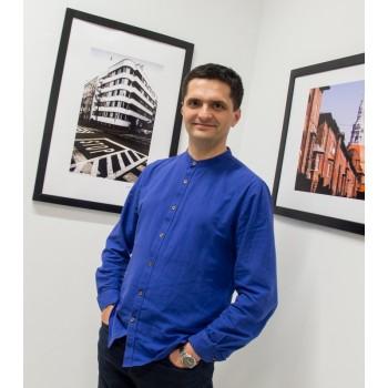 Jacek Durski, sprzedaż fotografii artystycznej – Architektura – Moderna Katowice PCK – na wystawie w ZPAF