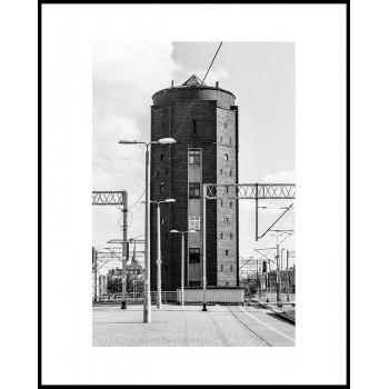 Jacek Durski, sprzedaż fotografii artystycznej – Wieża ciśnień – Katowice, Dworzec PKP