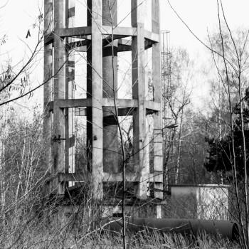 Jacek Durski, sprzedaż fotografii artystycznej – Wieża ciśnień – Huta Ferrum